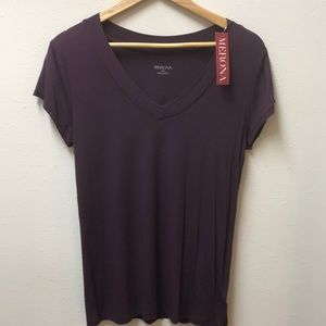 NWT - Merona Purple Short Sleeve T-shirt